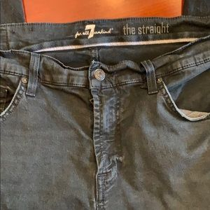 Mens Jeans 7 for All Mankind 36 blue